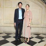 Antoine Arnault, CEO von Berluti, und Natalia Vodianova dürfen bei keiner großen Fashion-Veranstaltung fehlen.