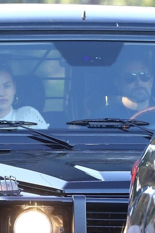 Irina Shayk und Bradley Cooper sind am 25. Februar 2019 in Los Angeles unterwegs. Die Stimmung: verhalten