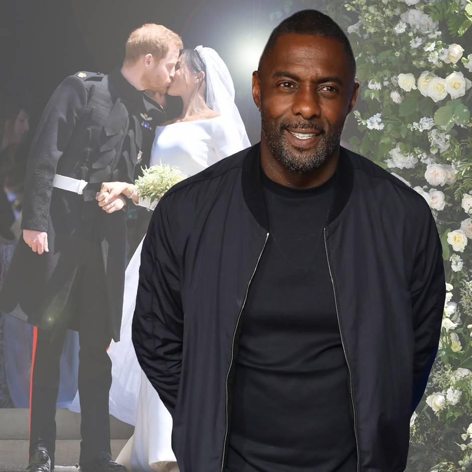 Idris Elba verrät neues Detail zur royalen Hochzeit