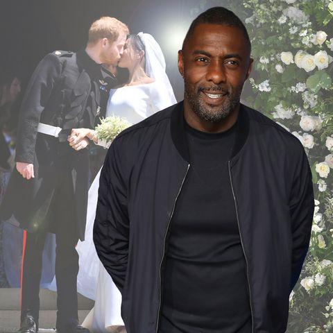 Idris Elba spricht über die Hochzeitsparty von Prinz Harry und Herzogin Meghan