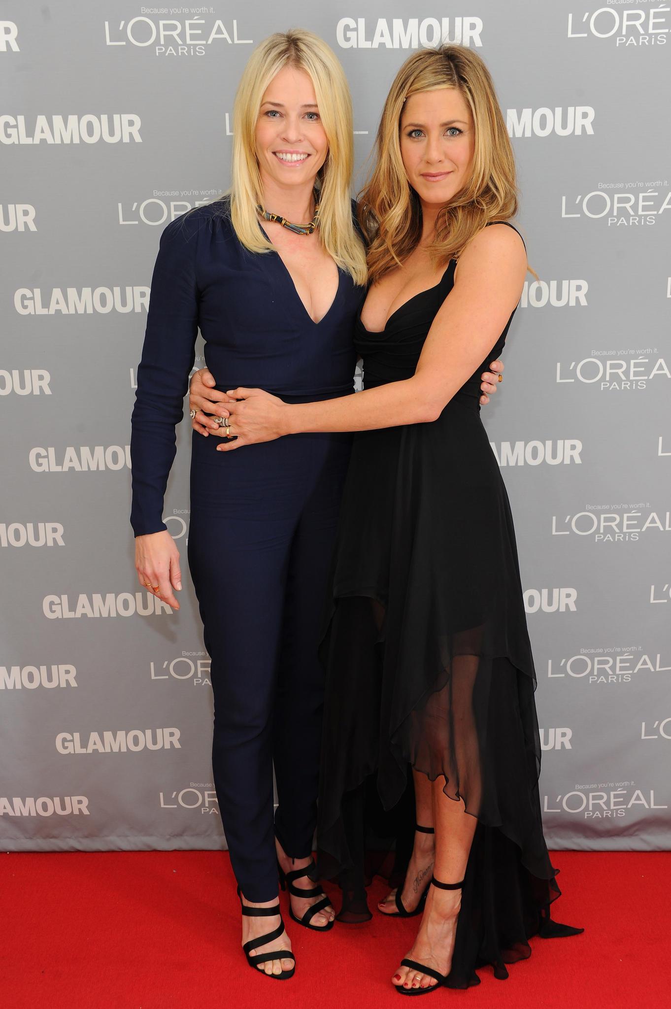 Jennifer Aniston, Chelsea Handler