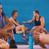 Jennifer hat sich trotz Konkurrentinnen beim Gruppendate getraut ihre Zeit mit ihm einzufordern ... mit Erfolg!