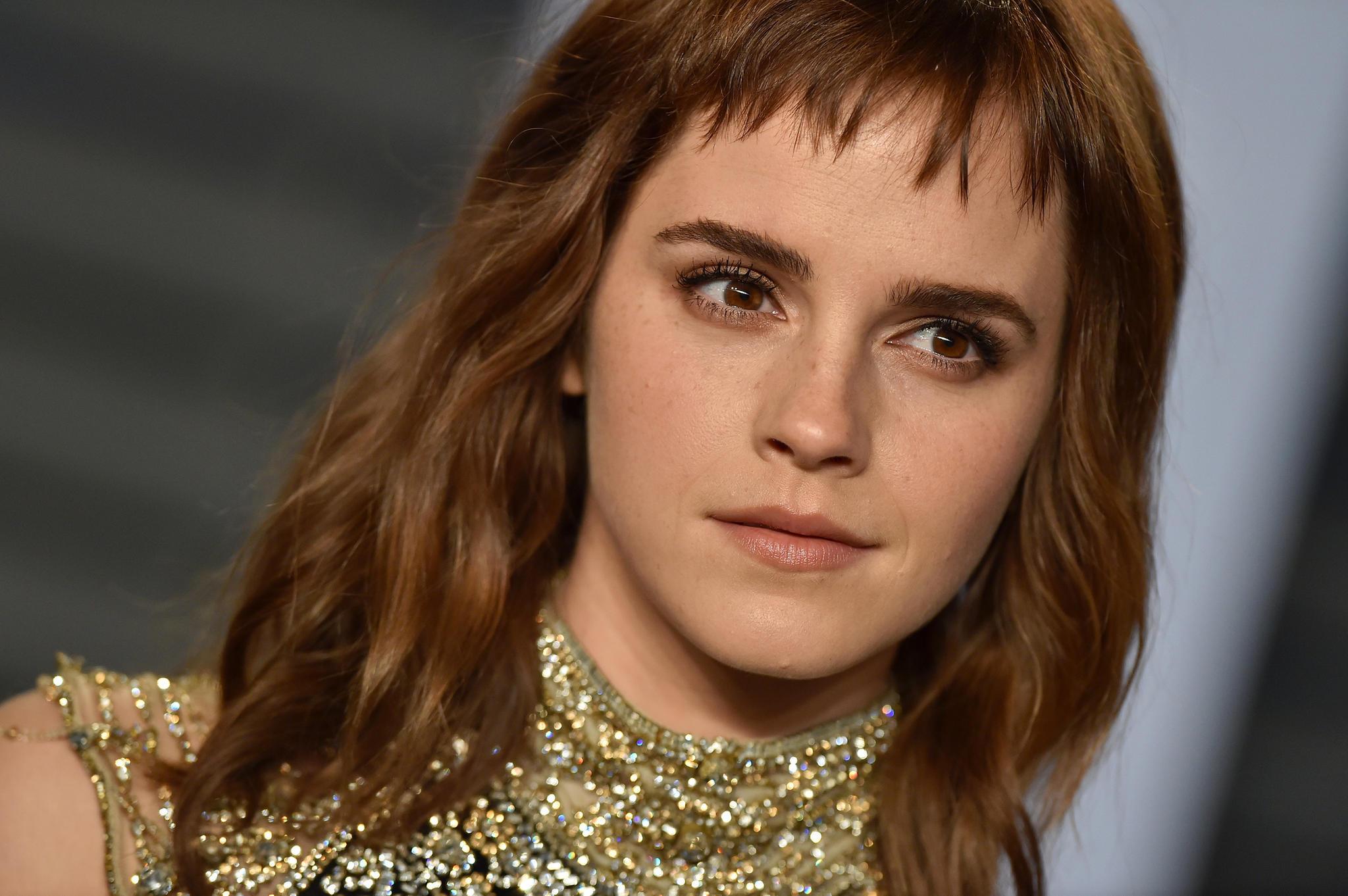 Emma Watson trägt Micro-Pony