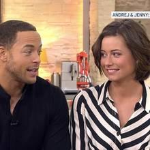Der Bachelor Andrej Mangold und Jennifer Lange in ihrem ersten Interview als Paar.