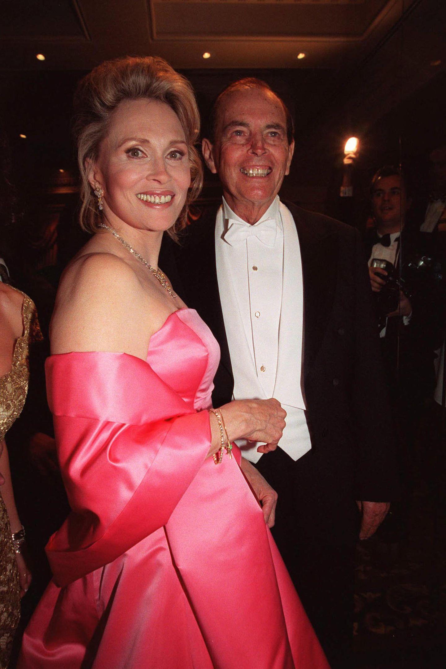 1999  Faye Dunaway undChristiaan Barnard