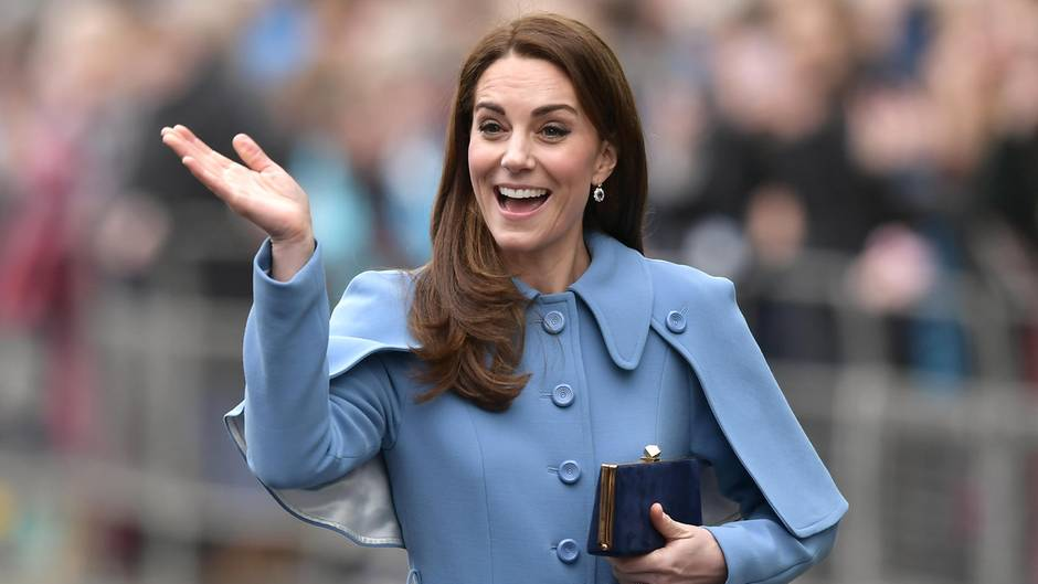 Herzogin Catherine: Jetzt äußert sie sich selbst zum 4. Baby