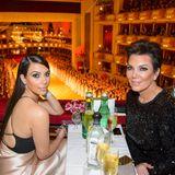 2014  Kim Kardashian und Kris Jenner
