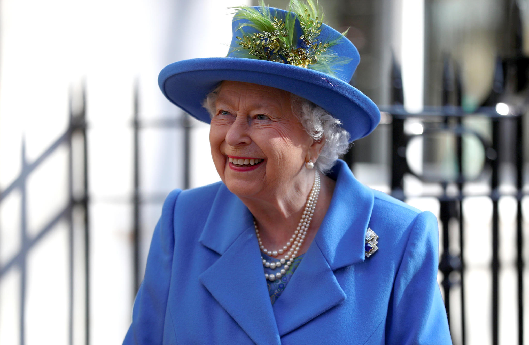 Queen Elizabeth II: Geheime Audienz im Buckingham-Palast