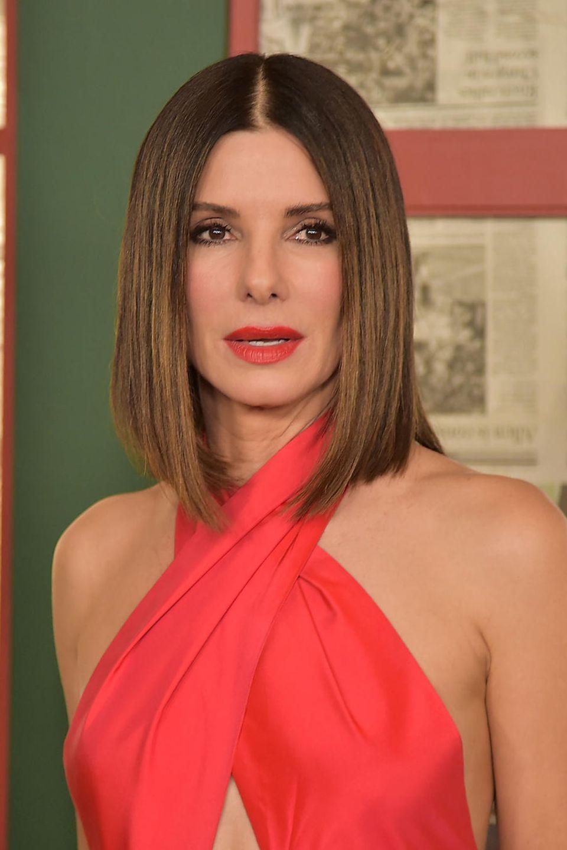 Sandra Bullock trägt Long-Bob