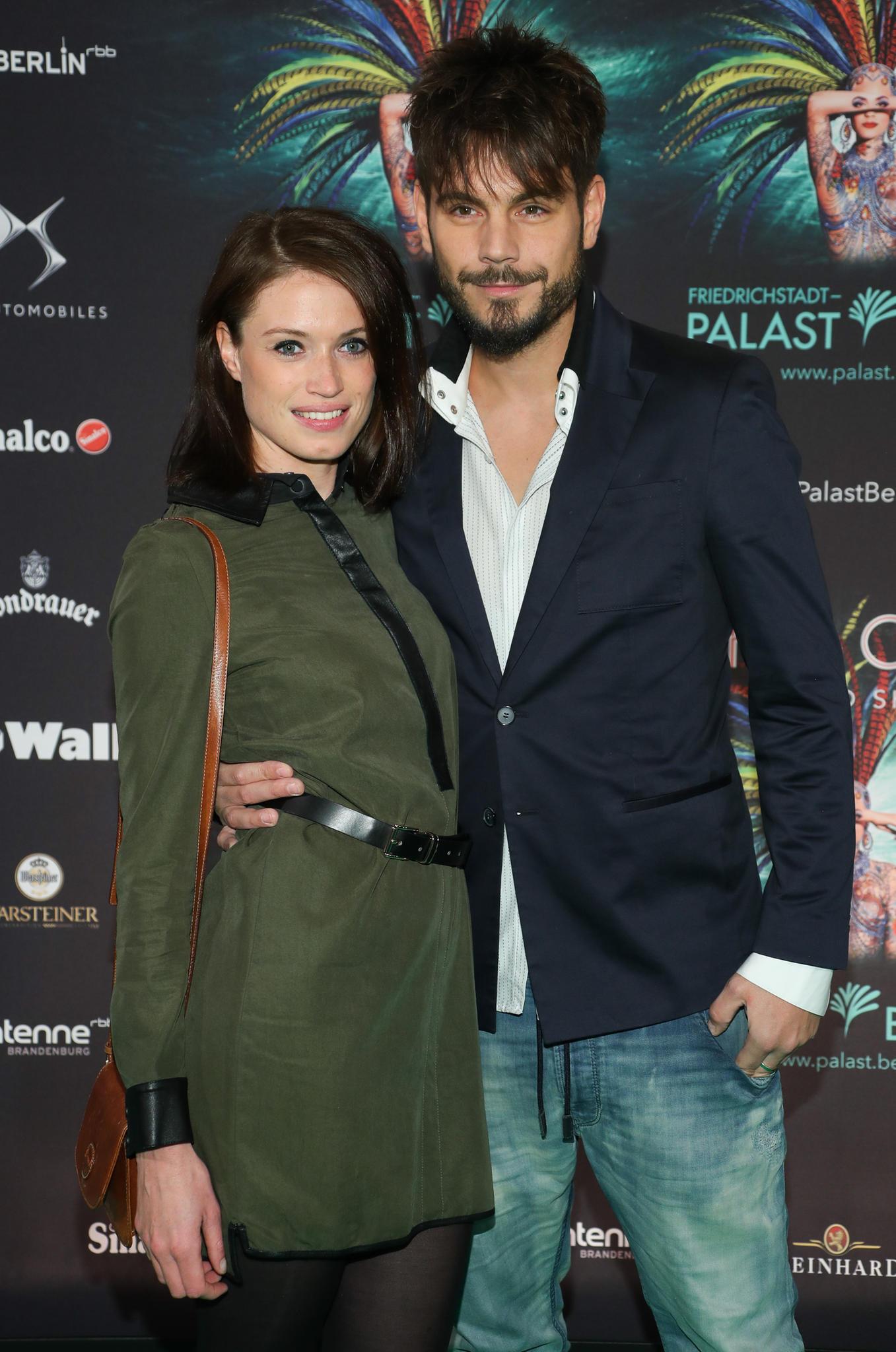 Nevio Passaro und seine Freundin Verena