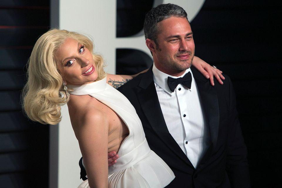 Lady Gaga, Taylor Kinney, Oscars 2016