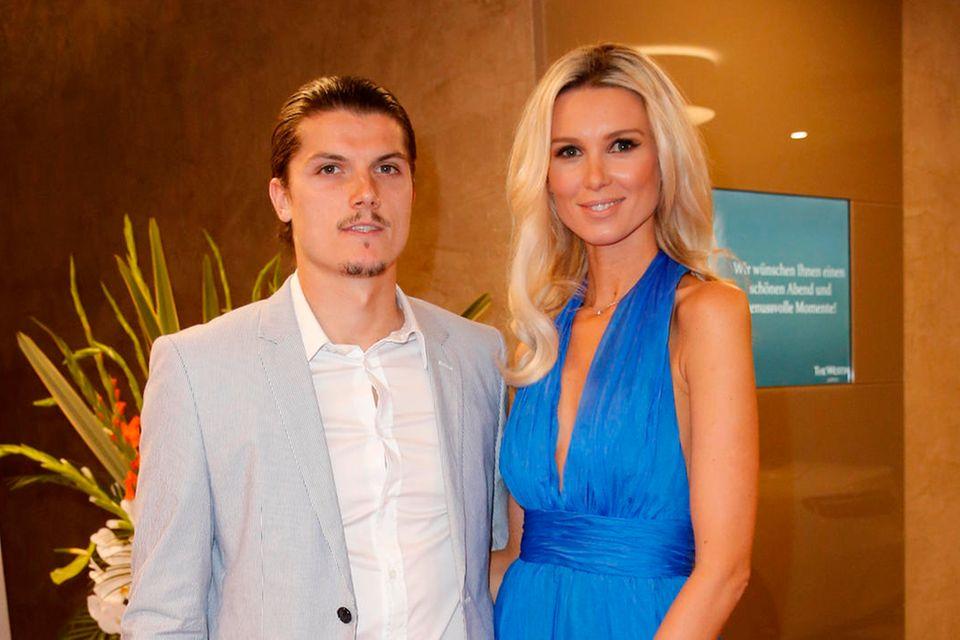 Marcel Sabitzer und Katja Kühne