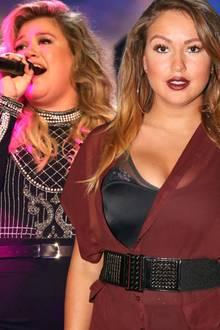 Kelly Clarkson, Chethrin Schulze, Robbie Williams