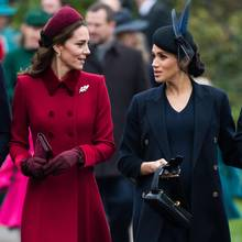 Herzogin Catherine (l.) und Herzogin Meghan (r.) am 25. Dezember 2018 in Sandringham