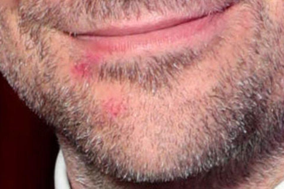 Lippenstift-Spuren von Lady Gaga