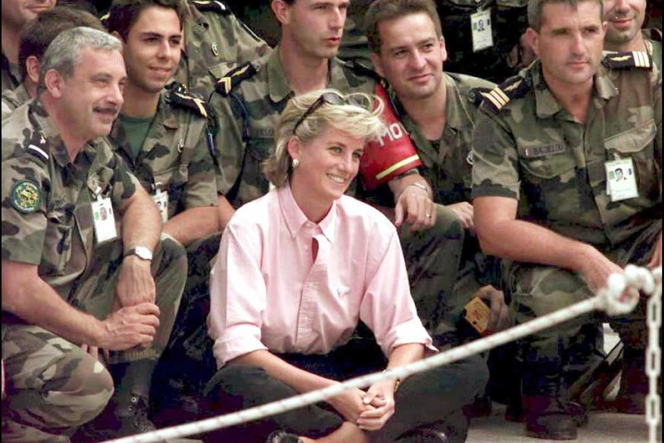 Prinzessin Diana, Bosnien