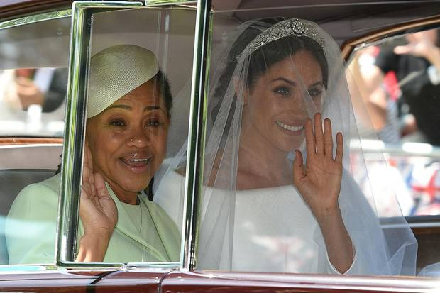Doria Ragland, Herzogin Meghan, Hochzeit, Prinz Harry