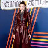 Gigi Hadid zählt ausnahmsweise zu den Gästen einer Fashion Show.