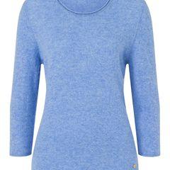 Cashmere Basic Rundhalspullover mit Rollsaum am Neck, 100% Cashmere. In mehreren Farben im HSE24-Onlineshop erhältlich. Preis 109,98 Euro.