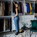 Model Stefanie Giesinger gewährt Einblicke in ihr von Westwing gestalteres Ankleidezimmer, das sie ganz fair mit ihrem Freund Marcus Butler teilt. Offene Schränke zeigen gleich beim ersten Blick, wo was hängt - erfordern aber auch ein Höchstmaß an Ordnung und Sauberkeit.