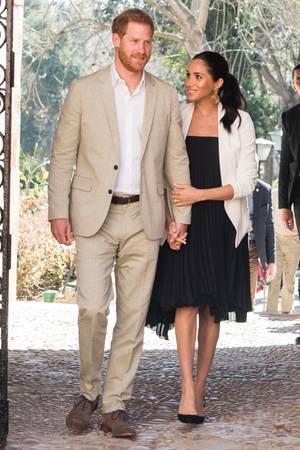 Harry + Meghan in Marokko