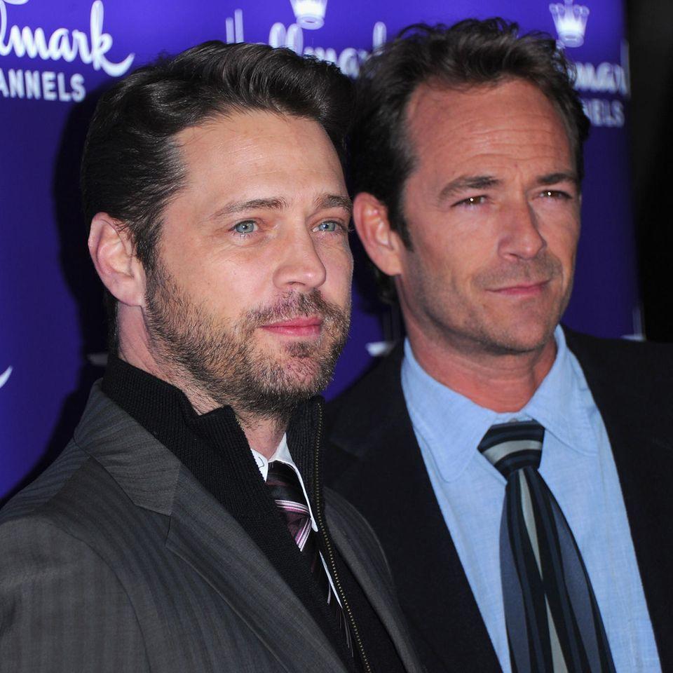 Jason Priestley, Luke Perry (†)