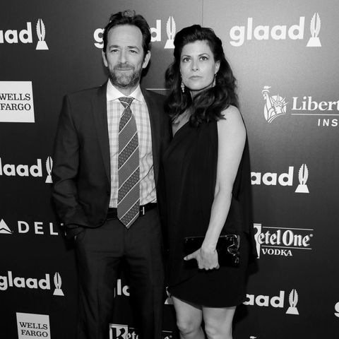 Luke Perry (†), Wendy Madison Bauer