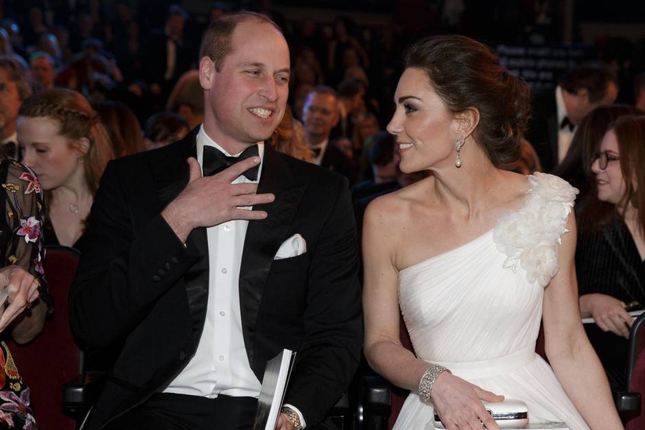 Prinz William und Herzogin Kate bilden bei jeder Art von Event ein tolles Team