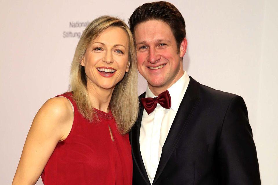 Matthias Steiner mit seiner zweiten Ehefrau Inge.