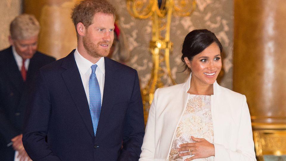 Prinz Harry und Herzogin Meghan werden in wenigen Wochen Eltern