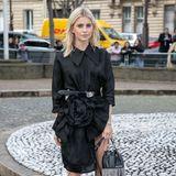 Aus Deutschland ist Caro Daur angereist. Als Instagram-Star ist sie ein gern gesehener Gast in Paris.