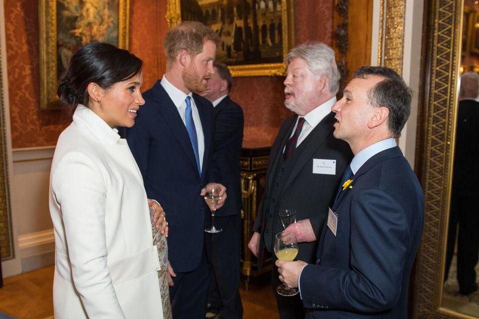 Herzogin Meghan, Prinz Harry, Simon Weston
