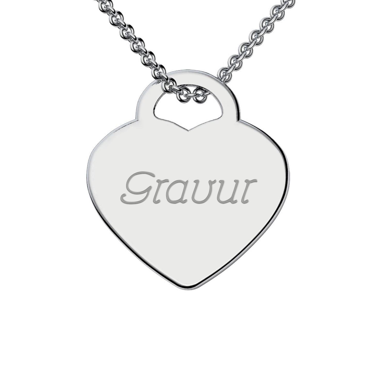 Diese Kette mit Wunsch-Gravur können Sie beim Online-Juwelier Amoonìc individuell gestalten