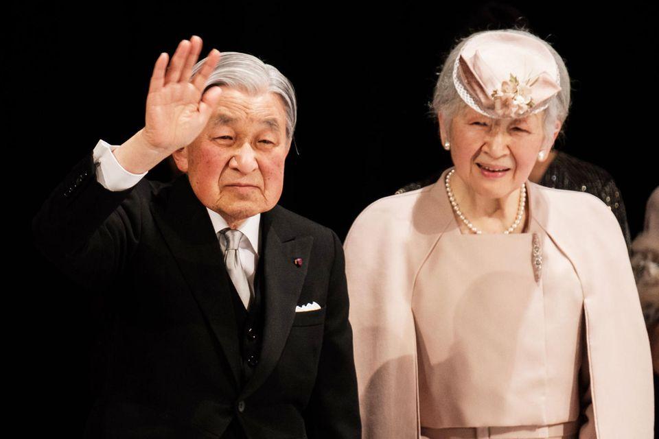 Japans Kaiser Akihito, der 2019 abdanken wird