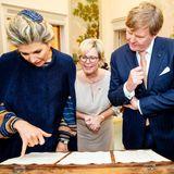 Auch die Handelskammer der norddeutschen Hansestadt besucht das niederländische Königspaar.