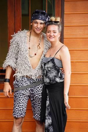 Prince Damien und Juliette Schoppmann