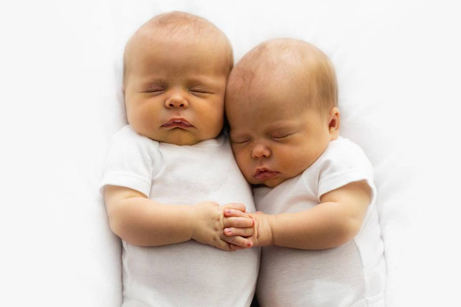 Zwillinge haben eine ganz besondere Verbindung