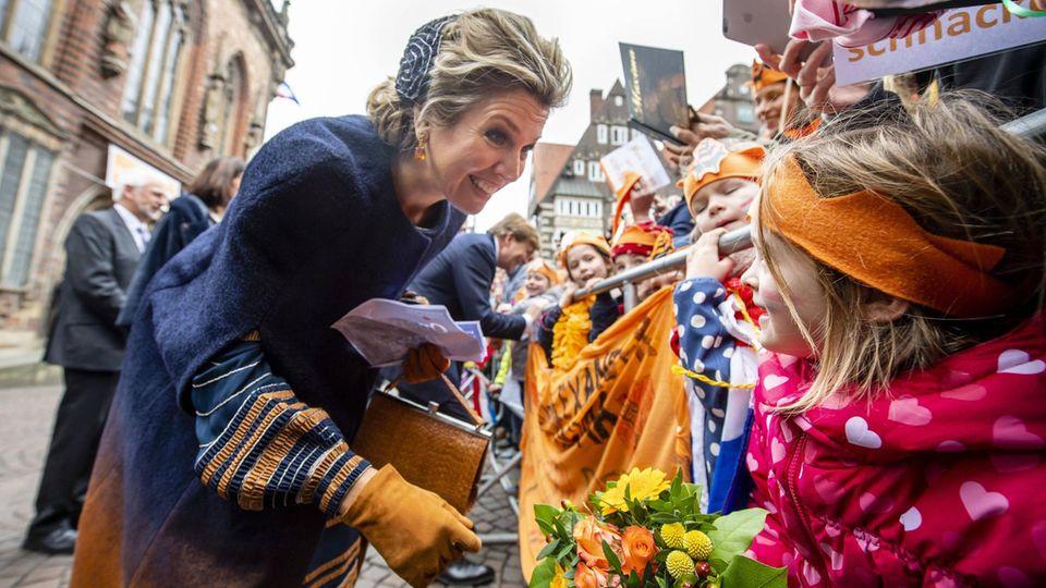 Königin Máxima in Bremen