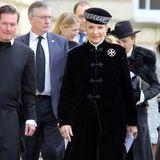 Lady Gabriella Windsors Mutter Prinzessin Michael von Kent will Maya ebenfalls das letzte Geleit geben.