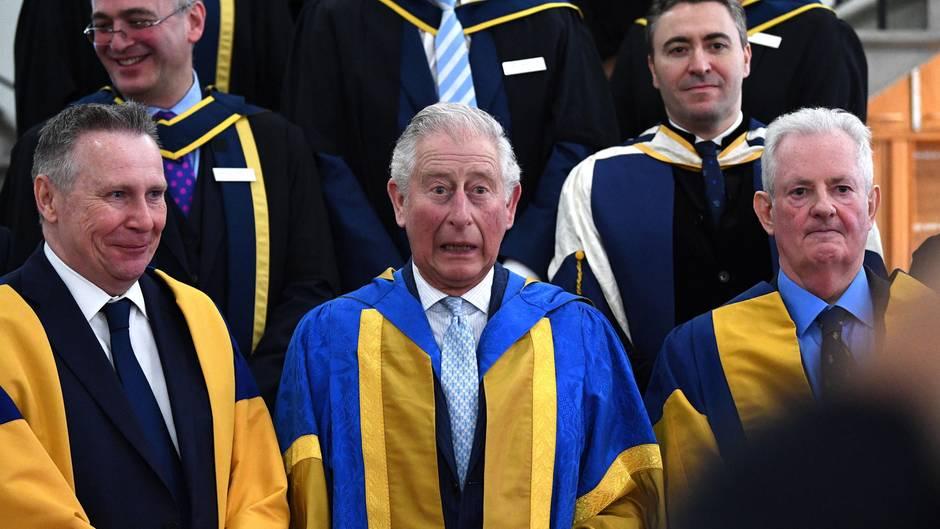 Prinz Charles bei der Preisverleihug des Royal College of Music in London