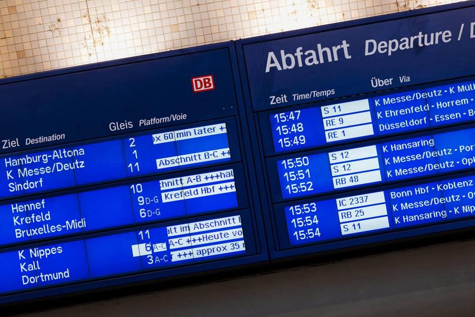 Welche Rechte habe ich, wenn die Bahn ihren Betrieb einstellt?