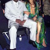"""Sean """"P. Diddy"""" Combs  Jennys grünes Grammy-Kleid ist superbekannt, dass der Rapper P. Diddy damals ihr Freund war, hat man schnell wieder vergessen. Dabei hielt ihre Beziehung offiziell vom August 1999 bis zum Februar 2001, anderthalb Jahre immerhin."""