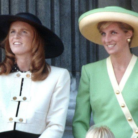 Sarah Ferguson, Prinzessin Diana