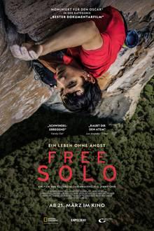 """""""FREE SOLO"""" kommt am 21. März 2019 in die Kinos"""