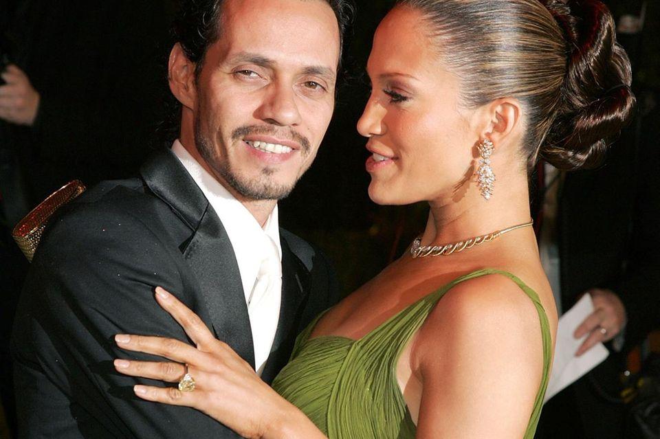Marc Anthony und Jennifer Lopez waren sieben Jahre lang verheiratet.