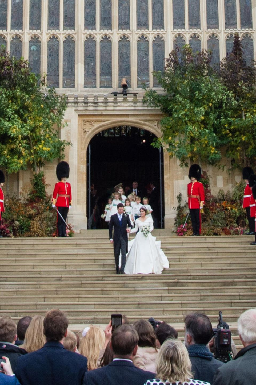 Queen Elizabeth zahlte die Hochzeit von Prinzessin Eugenie und James Brookbank