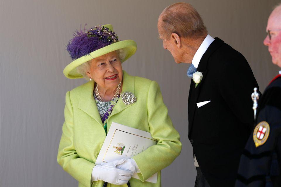 """Zu ihrem 70. Ehejubiläum ernannte Elizabeth ihren Mann zum""""Knight Grand Cross of the Royal Victorian Order"""""""