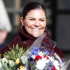 Mit vielen bunten Frühlingsblumen und Victorias Lächeln sind die Minusgrade in Stockholm fast vergessen.