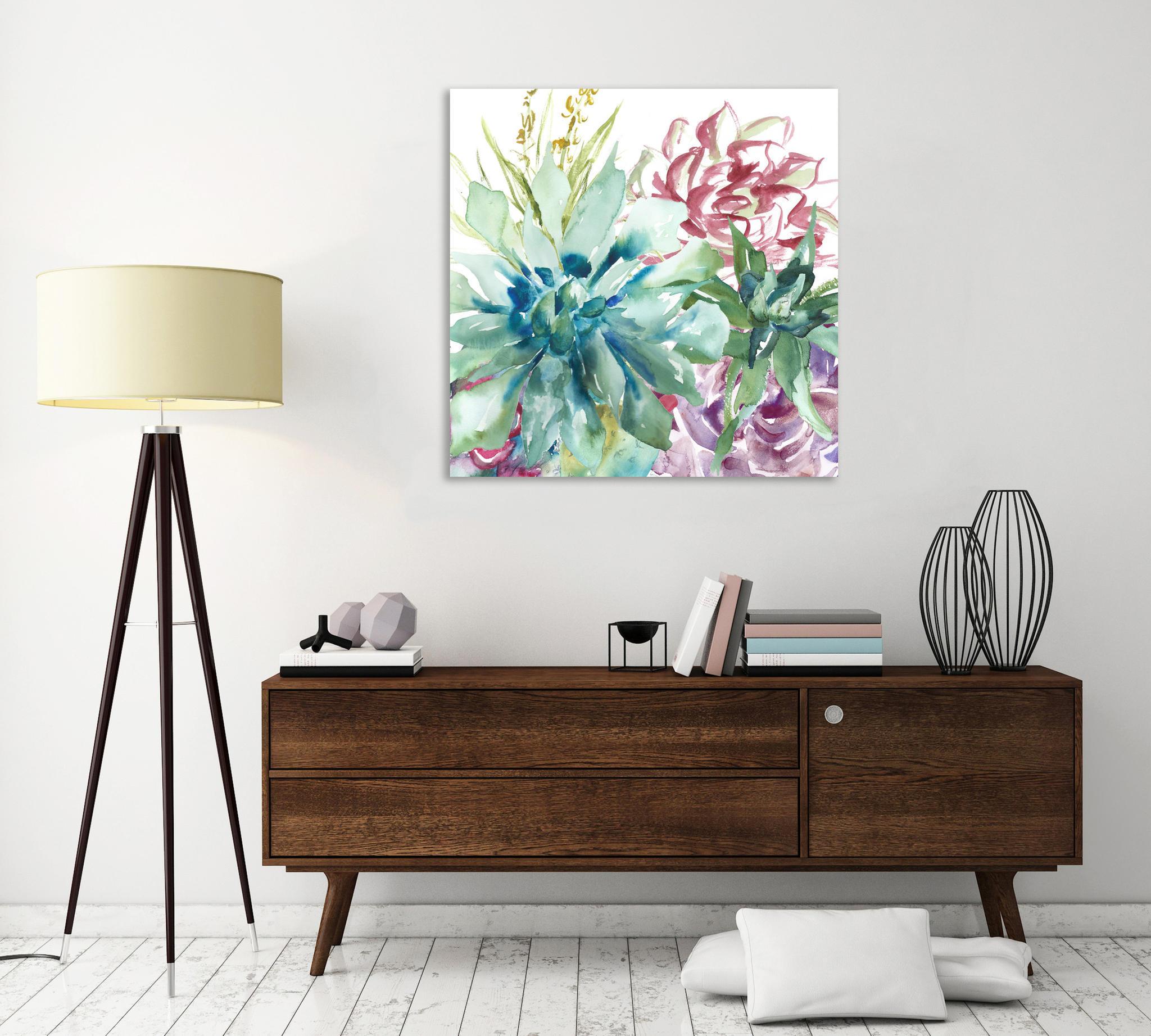 "Leinwandbild ""Succulent Garden"" von Tre Sorelle Studios (66,94 Euro)"