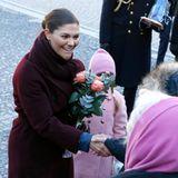 Viele royale Fans können ihrer zukünftigen Königin persönlich zum Namenstag gratulieren.